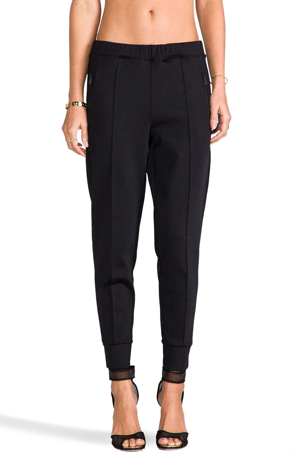 etre cecile Track Pant in Black