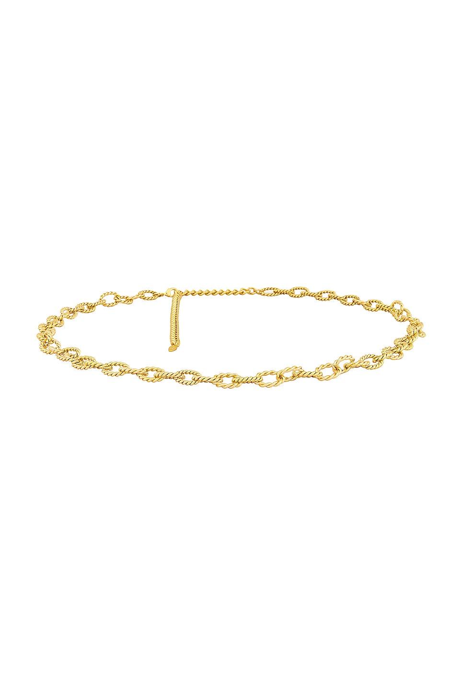 Ettika Metal Belt in Gold