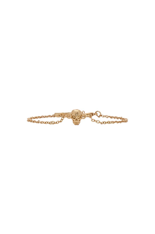 Ettika Dainty Skull Bracelet In Gold