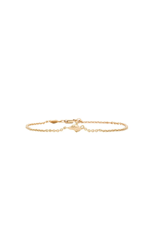 Ettika x 4 Foxes Bracelet in Gold