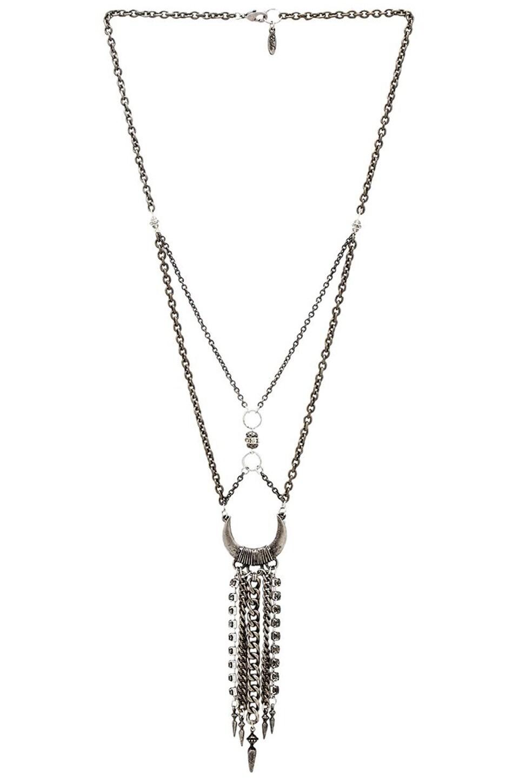 Ettika Dream Catcher Necklace in Silver