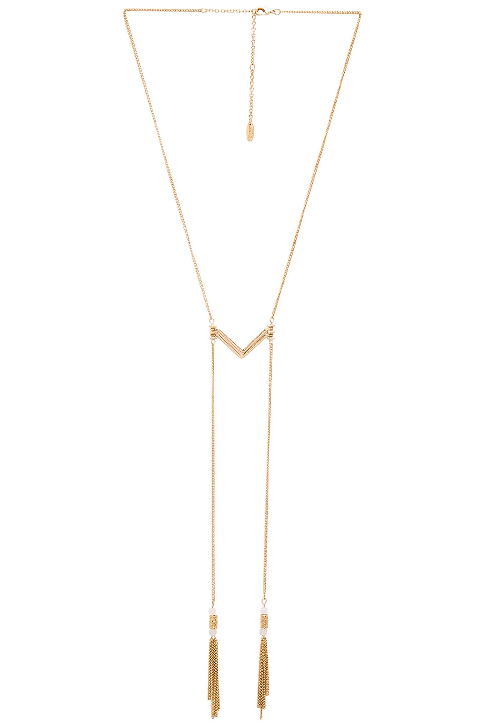 Ettika Tassel Necklace in Gold