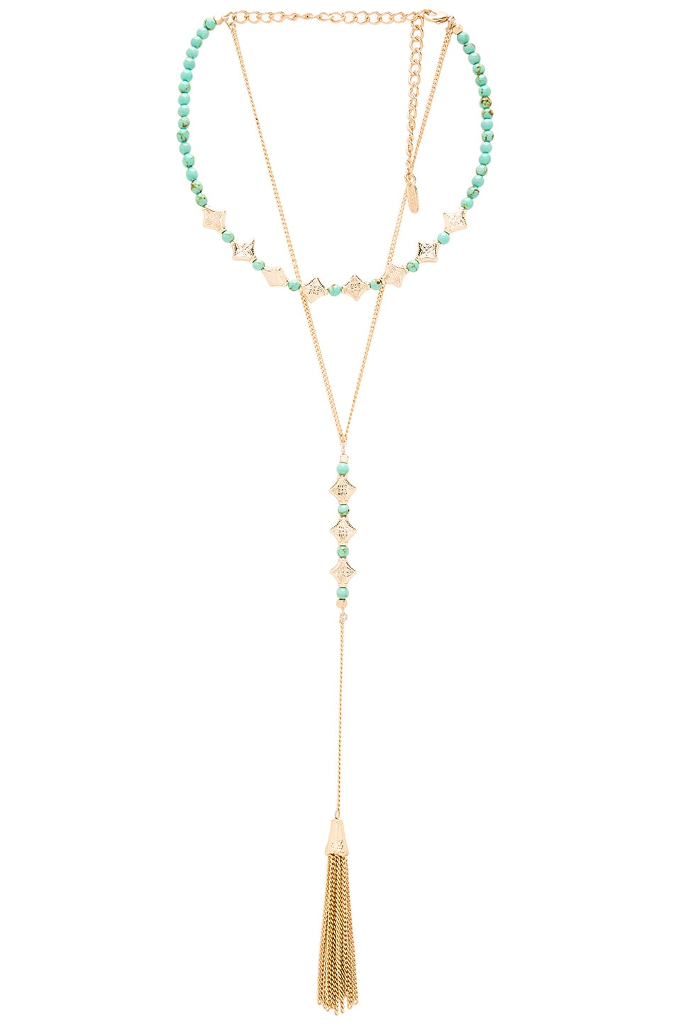 Tassel Layered Necklace by Ettika