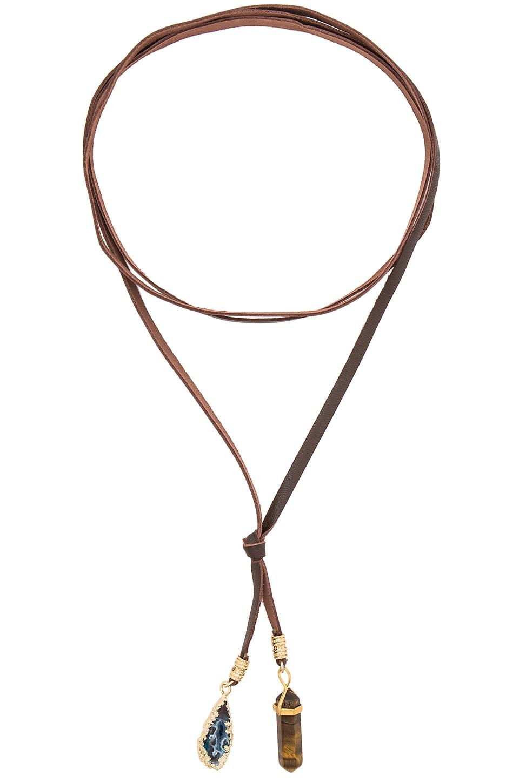 Stone Necklace by Ettika