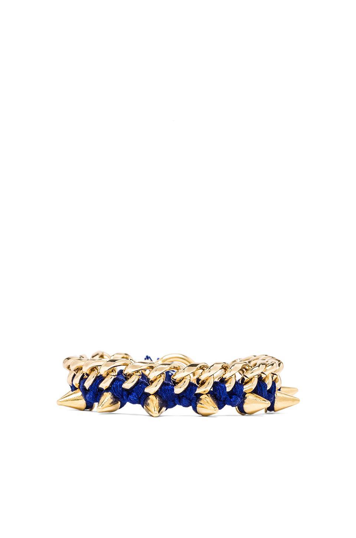 Ettika Spike Bracelet in Cobalt