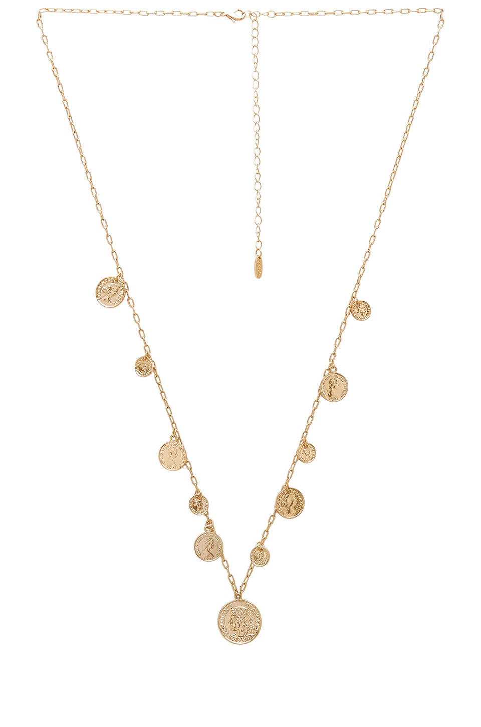 Ettika Coin Necklace in Gold