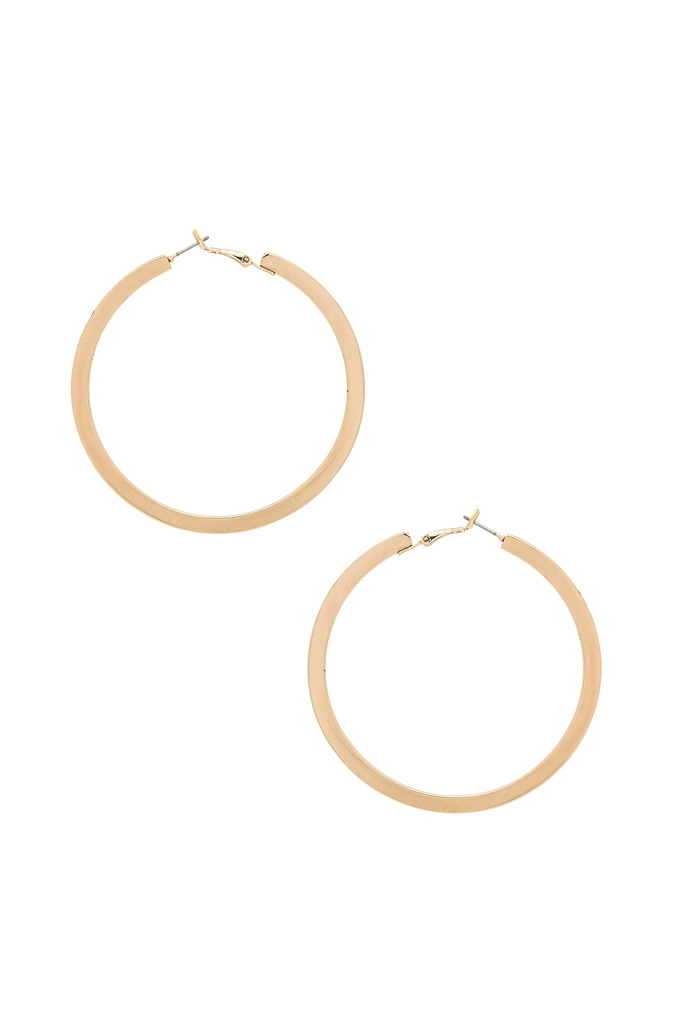 Ettika Classic Hoops in Gold