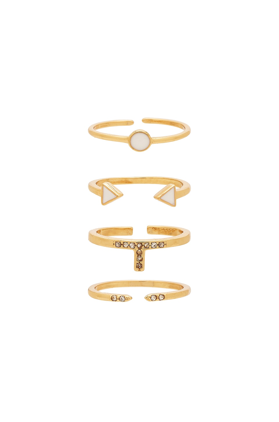 Ettika Last Lover Ring Set in Gold