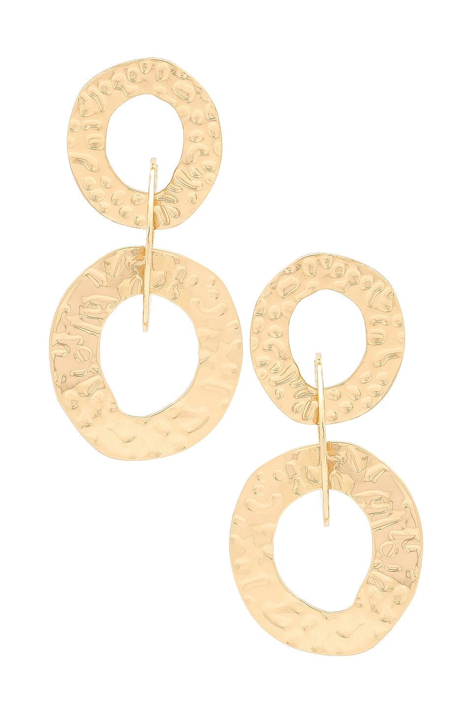 Ettika Multi Hoop Earrings in Gold