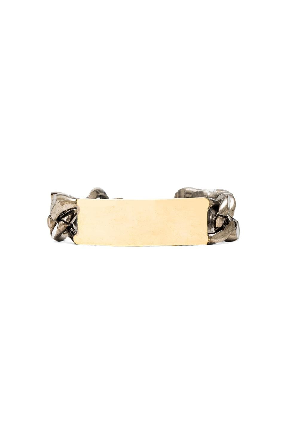 Ettika ID Bracelet in Gold