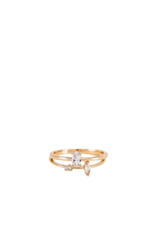 Ettika Stackable Rings in Gold