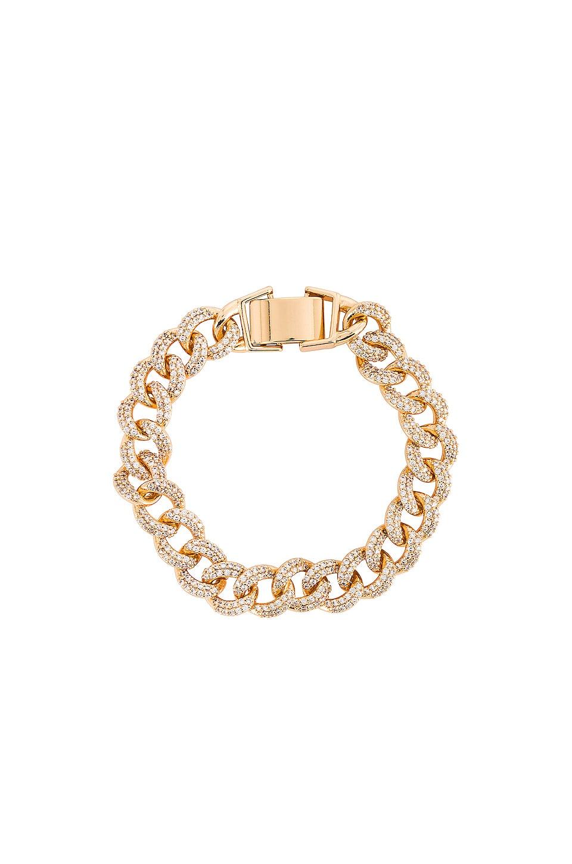 Ettika Embellished Chain Bracelet in Gold