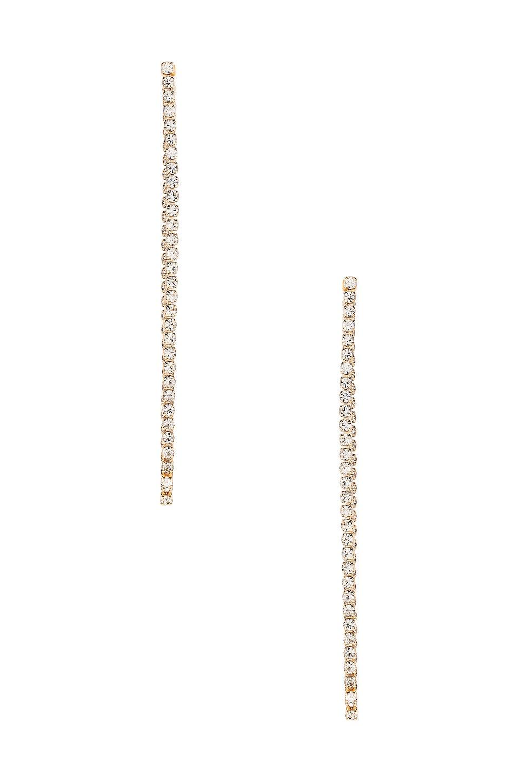 Ettika Drop Earrings in Gold