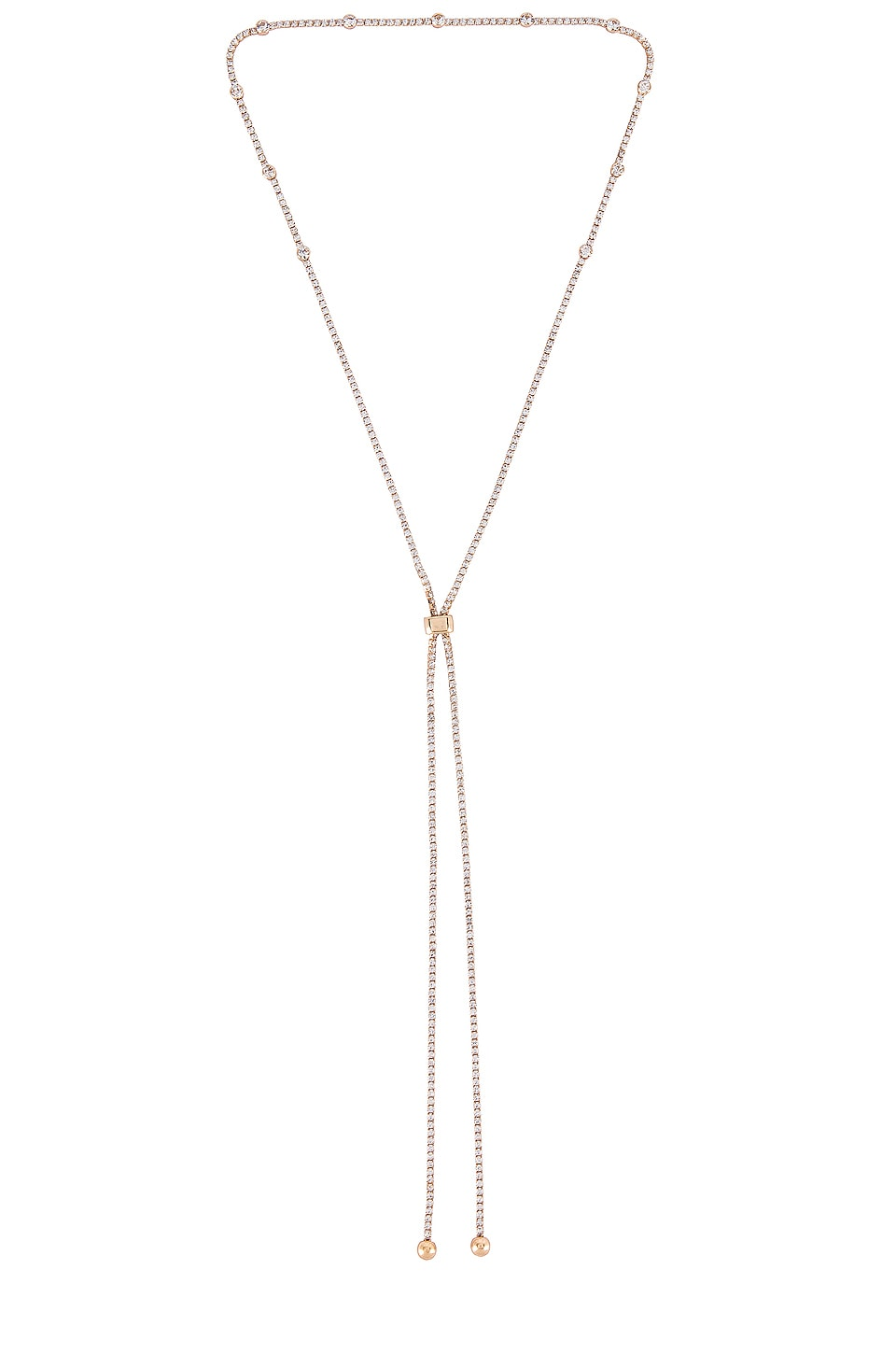 Ettika Adjustable Chain Necklace in Gold