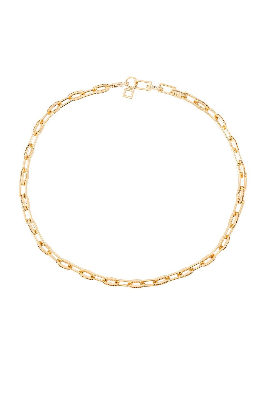 Ettika Pave Chain Necklace in Gold