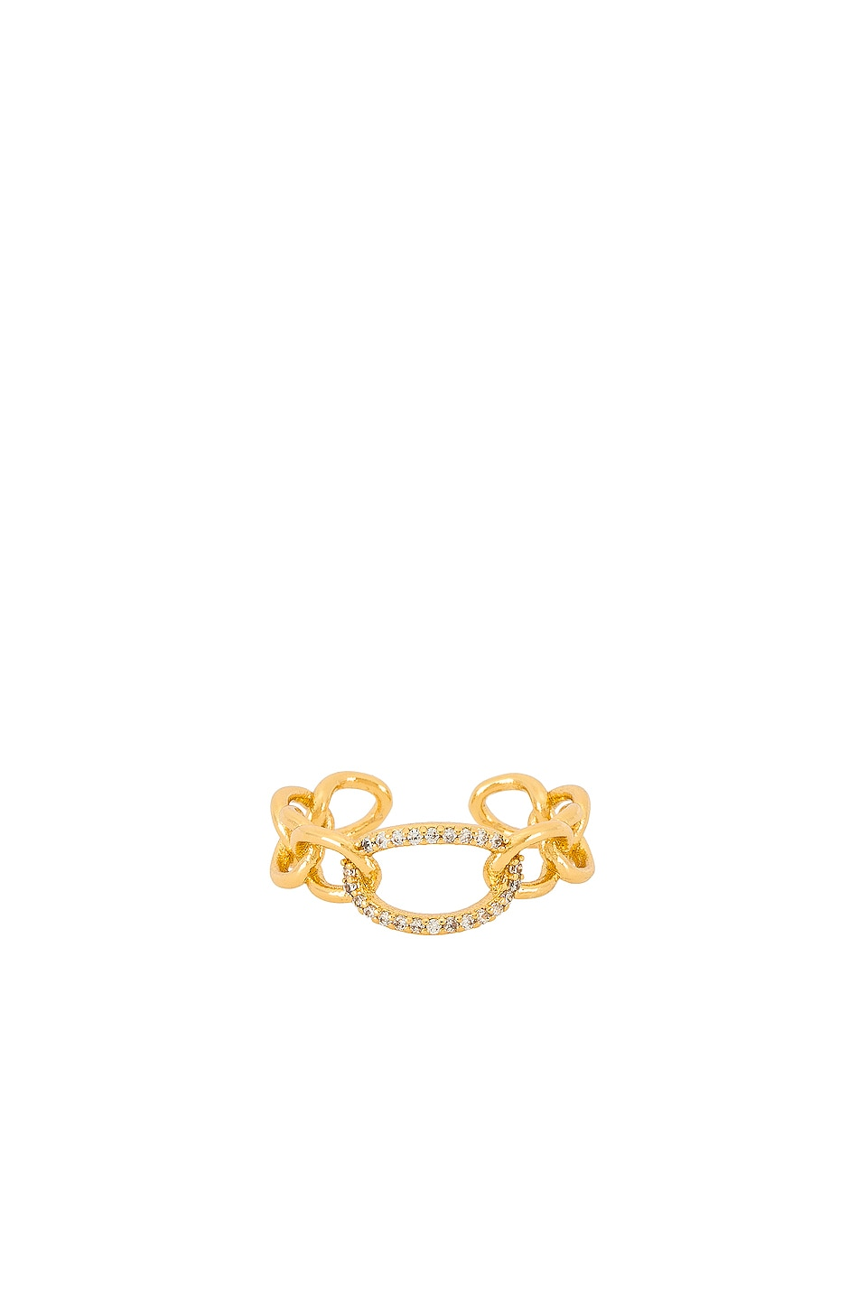 Ettika Link Ring in Gold