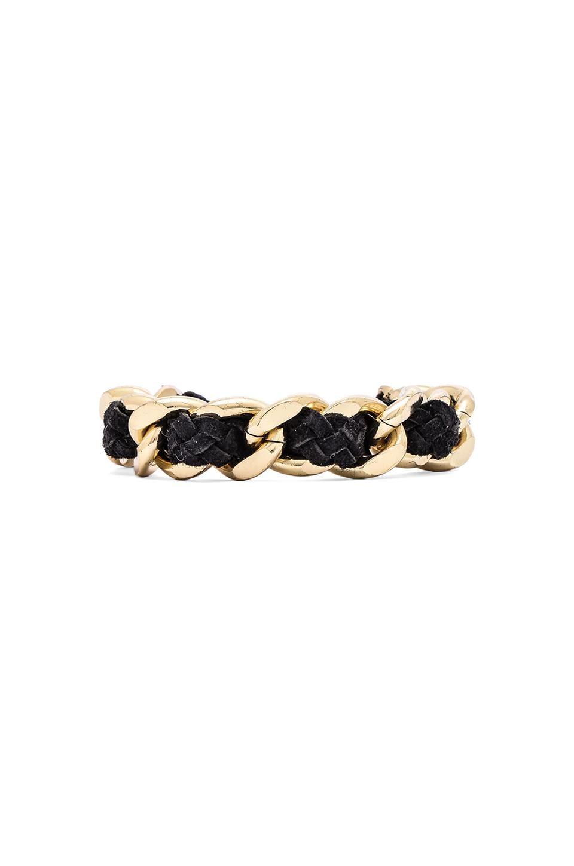 Ettika Chain Bracelet in Black