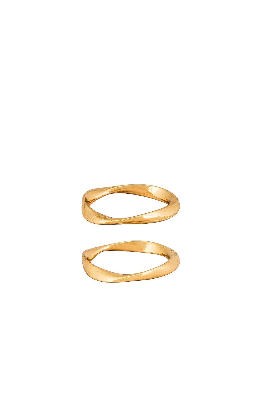 Ettika Ring Set in Gold