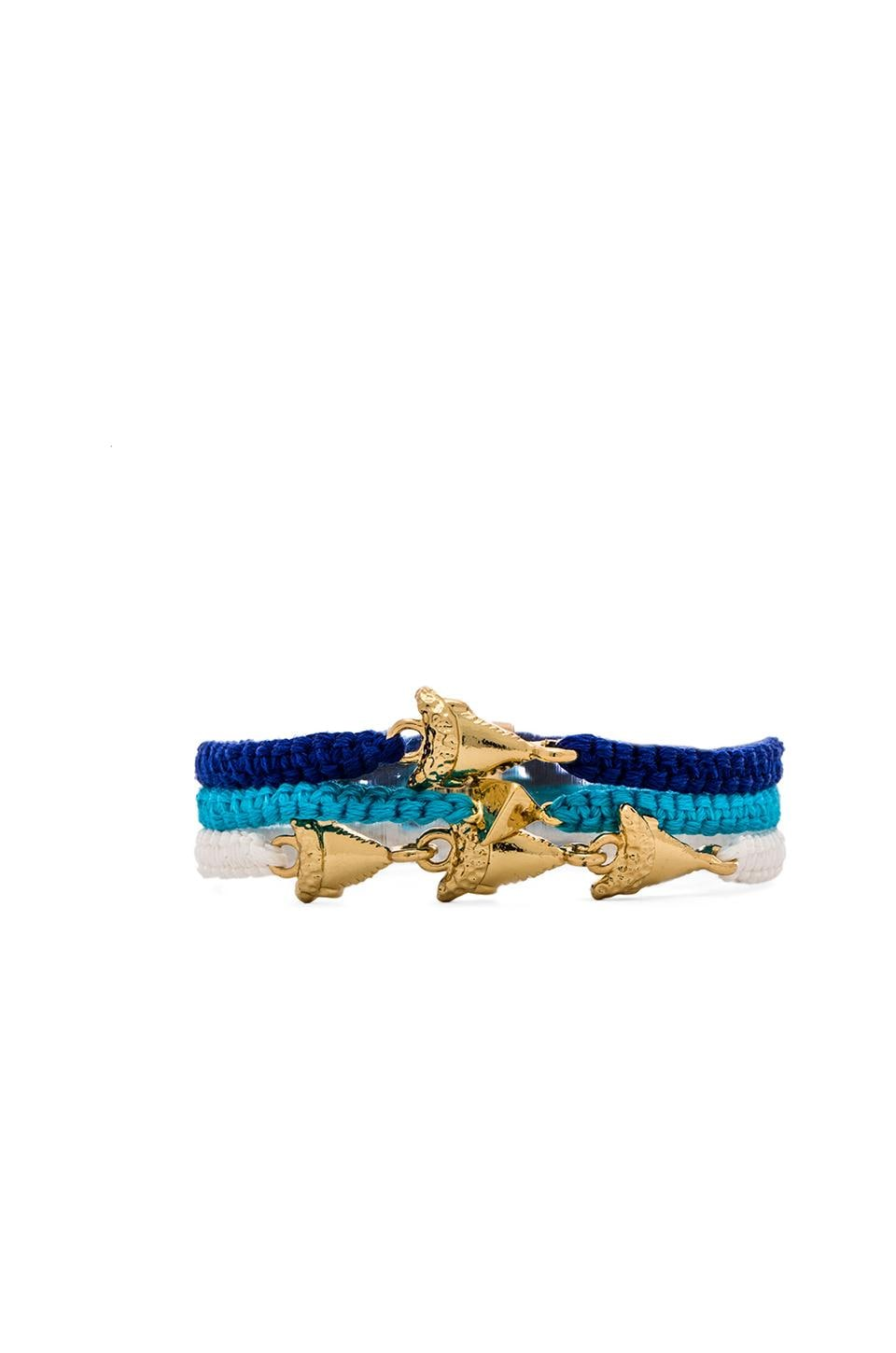 Ettika Bracelet Set of 3 in Nautical