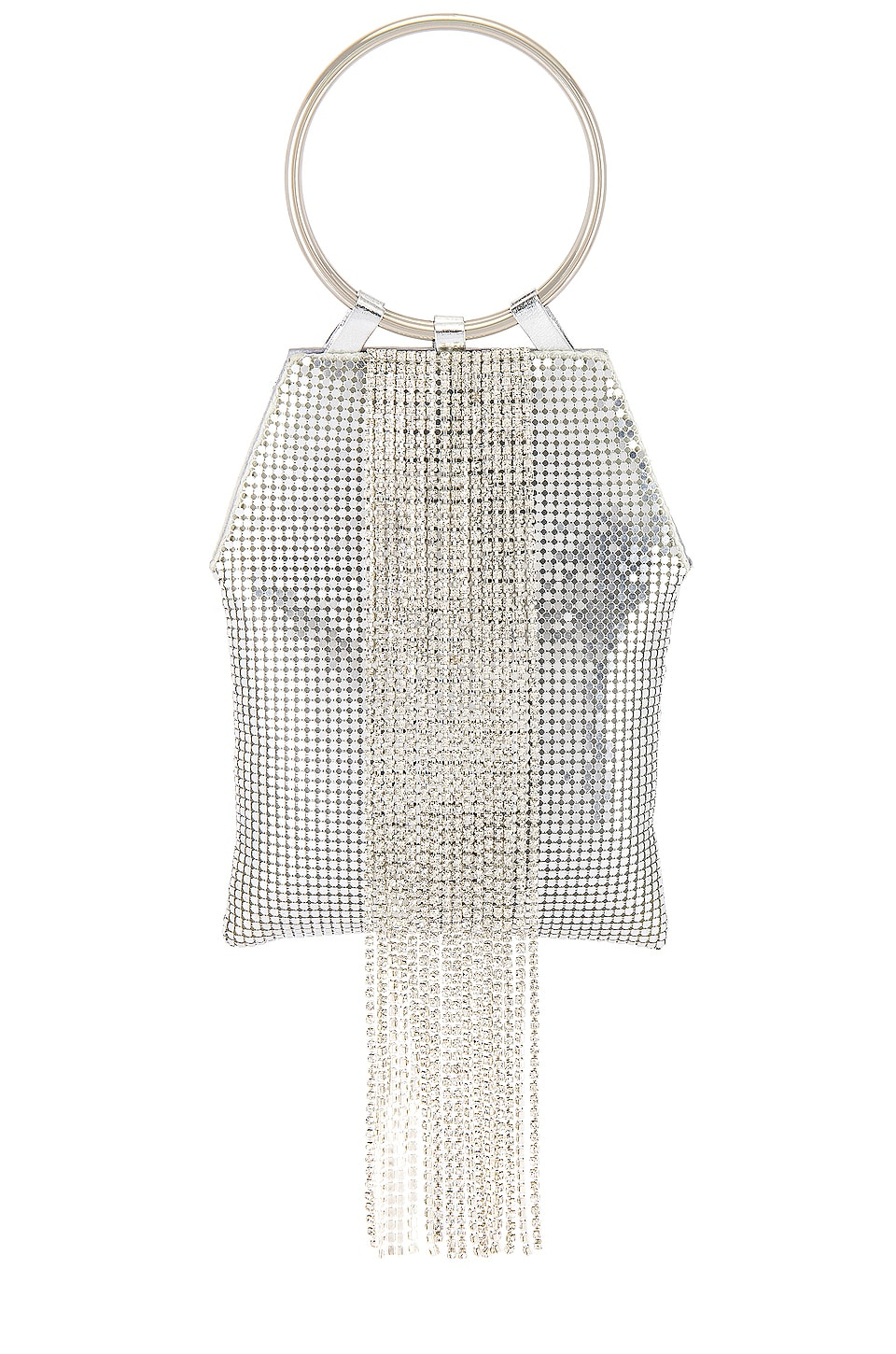 Ettika Mesh Bag in Silver