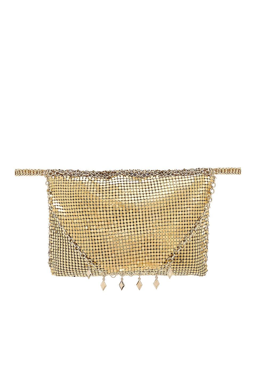 Ettika Shimmer Fanny Pack in Gold