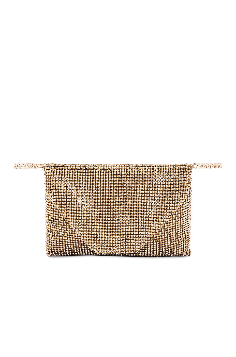 Ettika Metallic Belt Bag in Gold