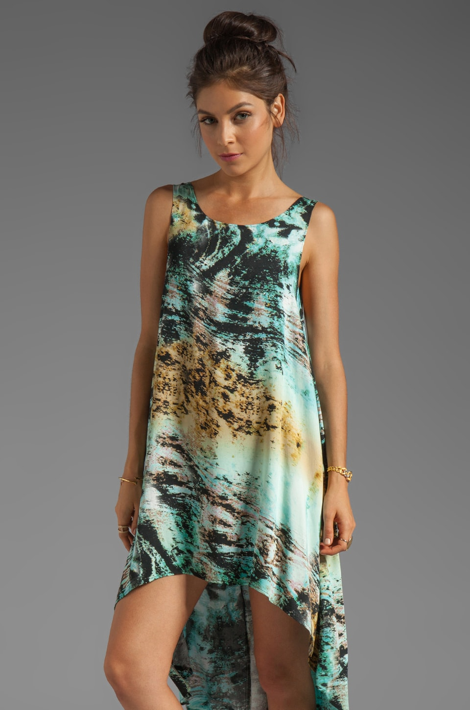 Evil Twin Mystic Moment Tank Dress in Multi