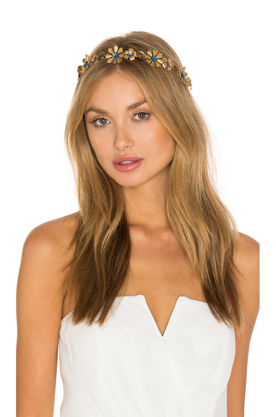 Eugenia Kim Selene Crown in Gold