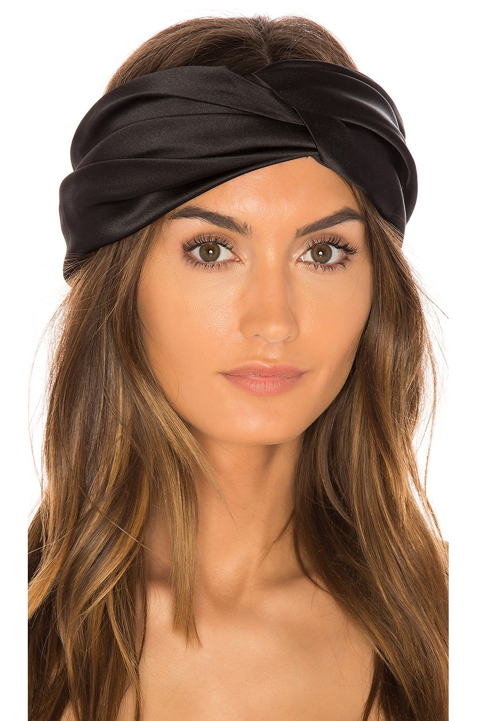Eugenia Kim Malia Headband in Black