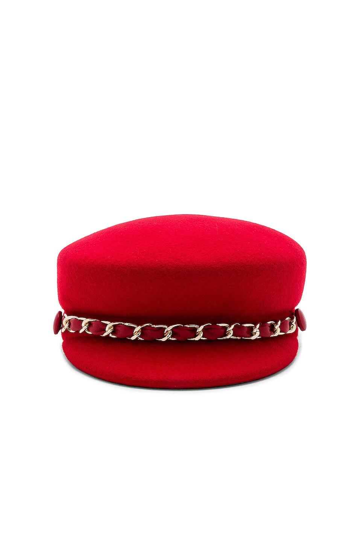 Eugenia Kim Sabrina Hat in Red