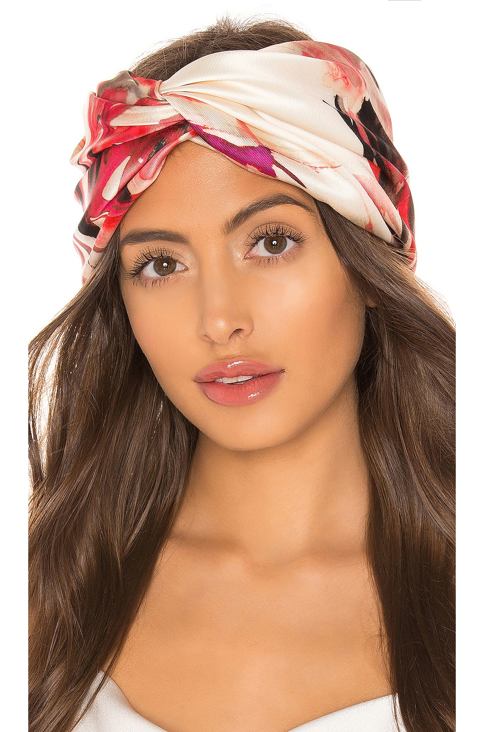 Eugenia Kim Malia Headband in Red