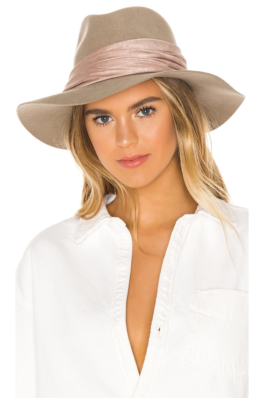 Eugenia Kim Georgina Hat in Fawn