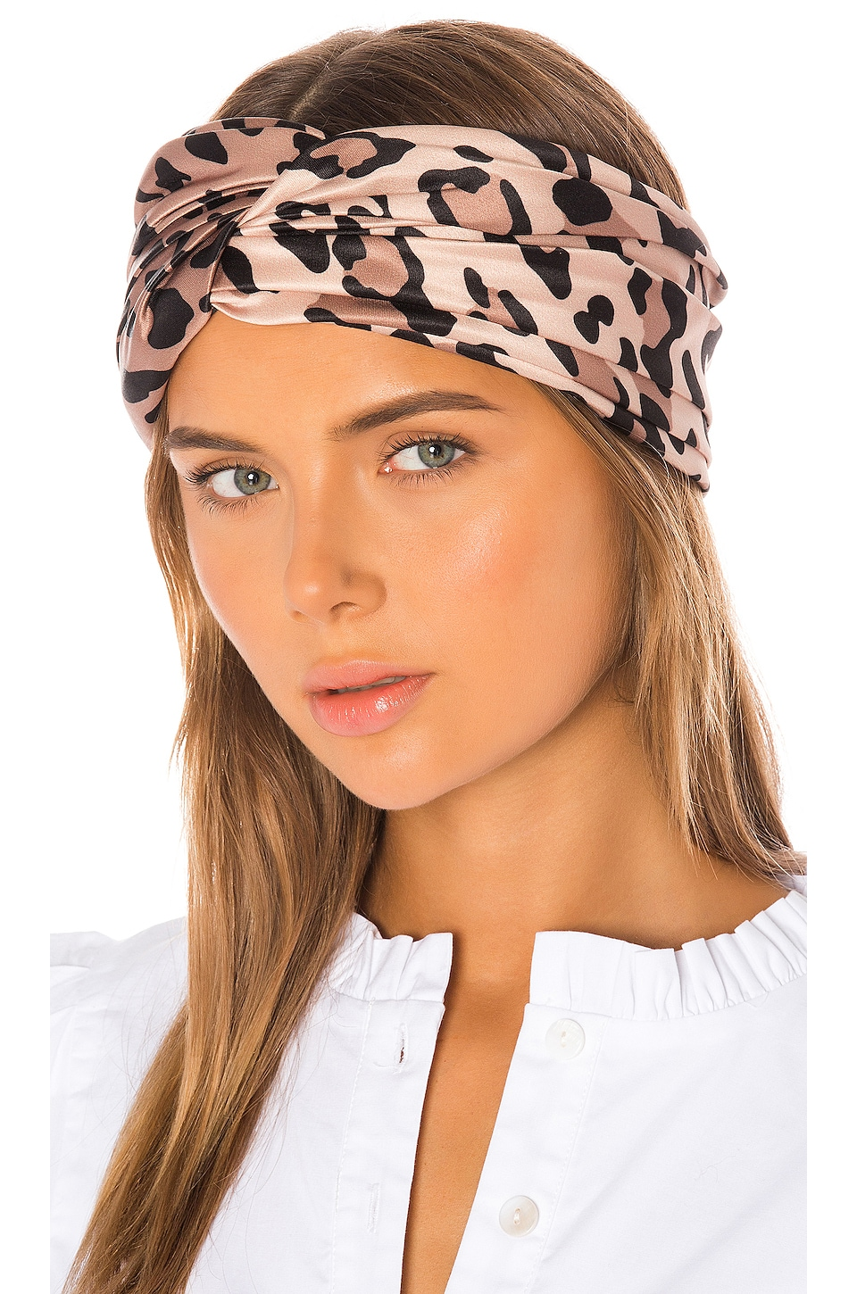 Eugenia Kim Malia Headband in Leopard