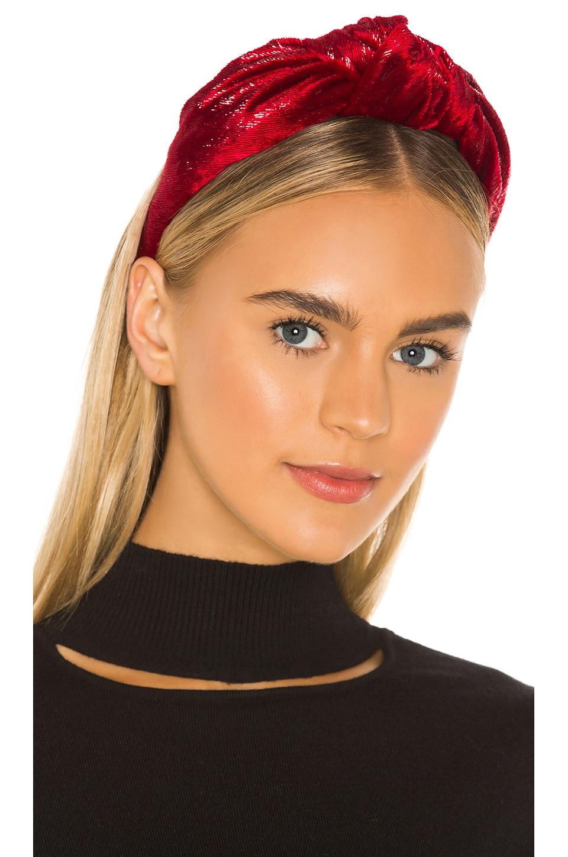 Eugenia Kim Maryn Headband in Red