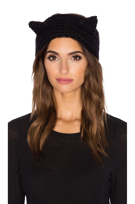 Eugenia Kim Kat Headband in Black