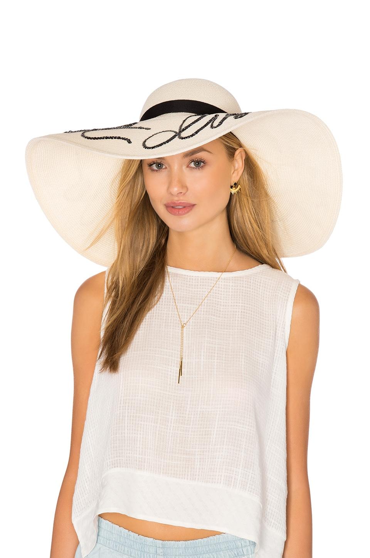 294eb4ad0 Eugenia Kim Sunny Do Not Disturb Hat in Ivory | REVOLVE