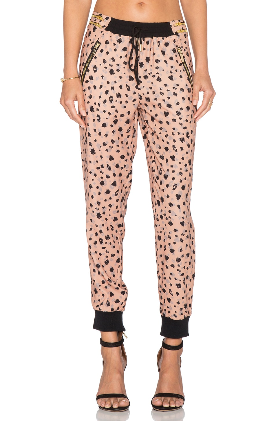 Whitney Eve Glass Beach Pant in Sketchy Leo