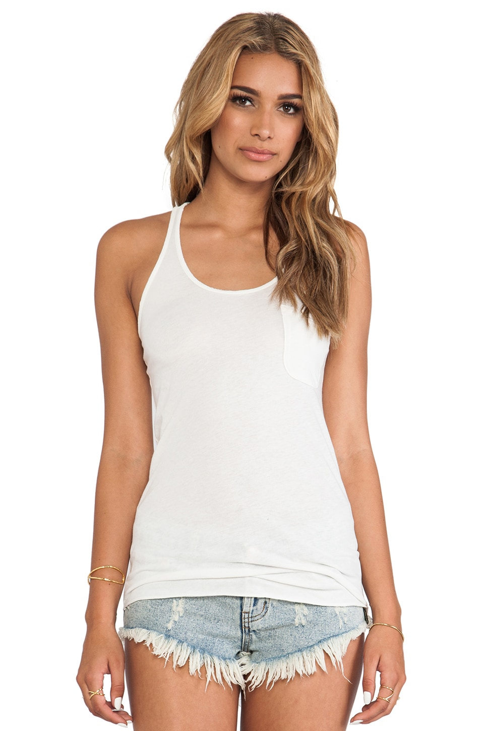 EVER Pocket Tank in White