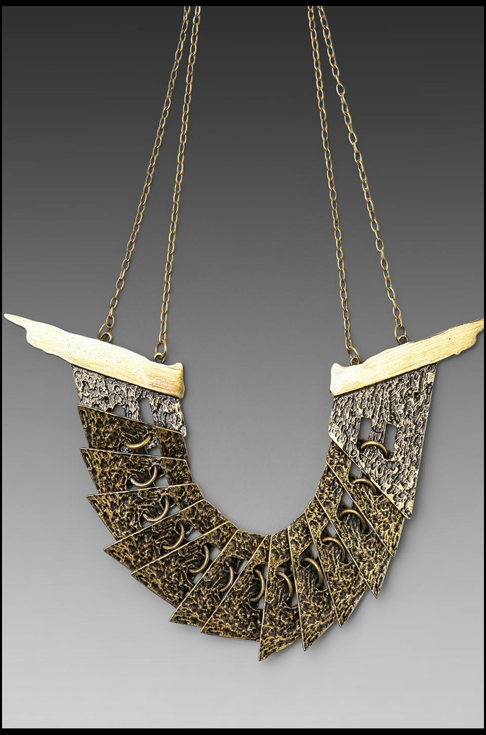 Low Luv x Erin Wasson Therianthropy Collar Necklace in Gold