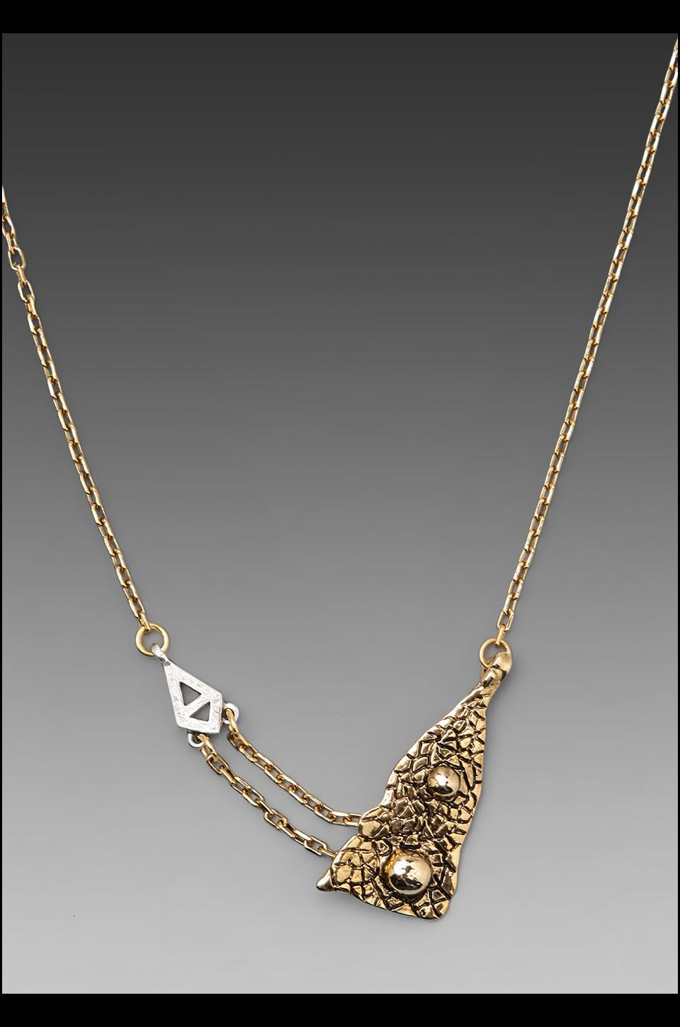 Low Luv x Erin Wasson Lost Island Necklace in Gold