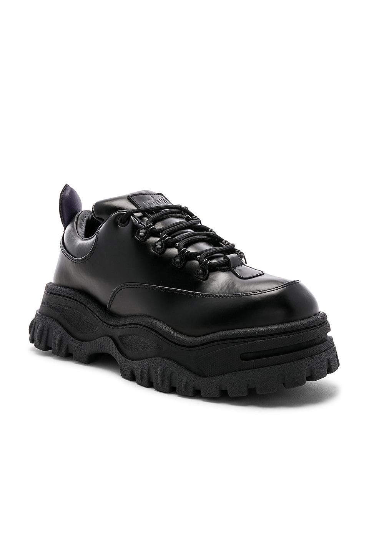 Eytys Angel Leather Sneaker in Black