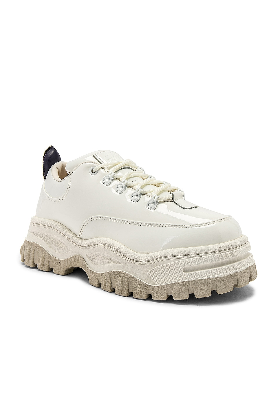 Eytys Angel Patent Sneaker in White