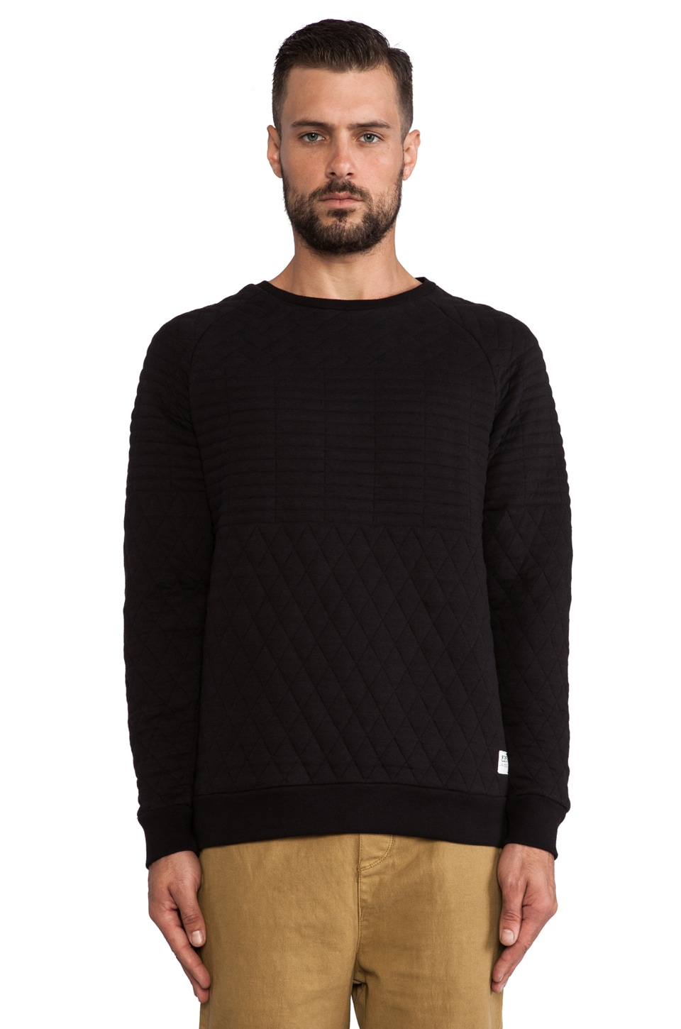 Ezekiel Secret Agent Pullover in Black