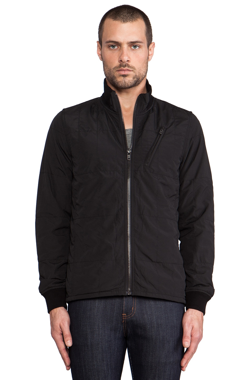 Ezekiel Harlem Jacket in Black