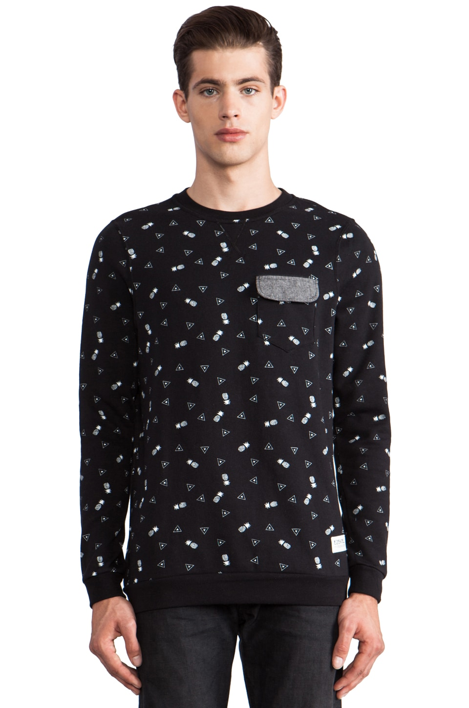 Ezekiel Island Hopper Pullover in Black