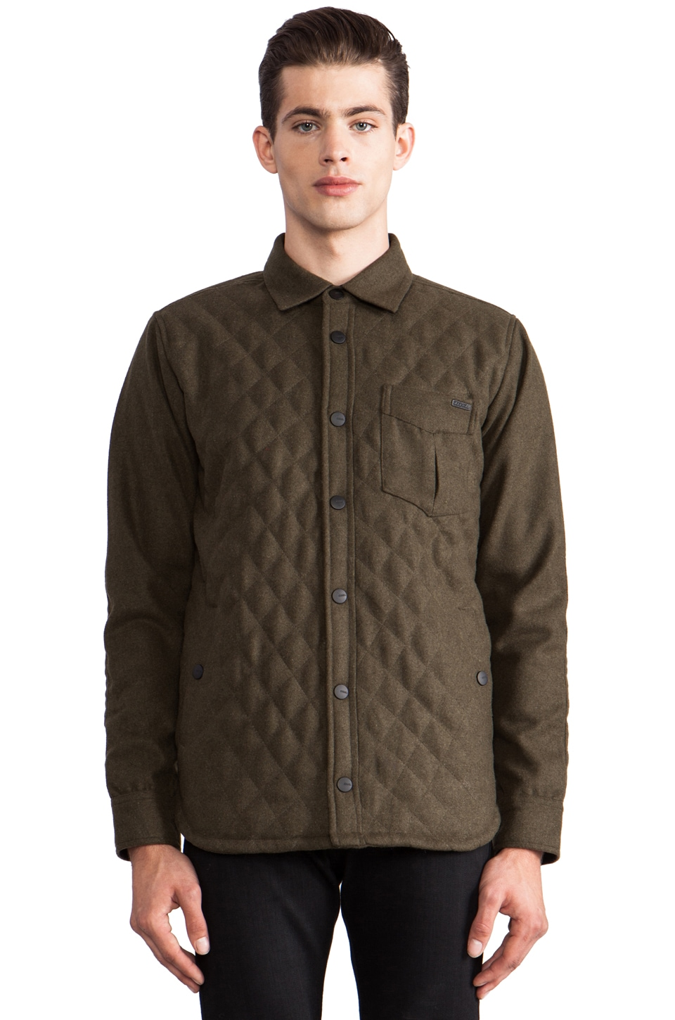 Ezekiel Replica Jacket in Military Green