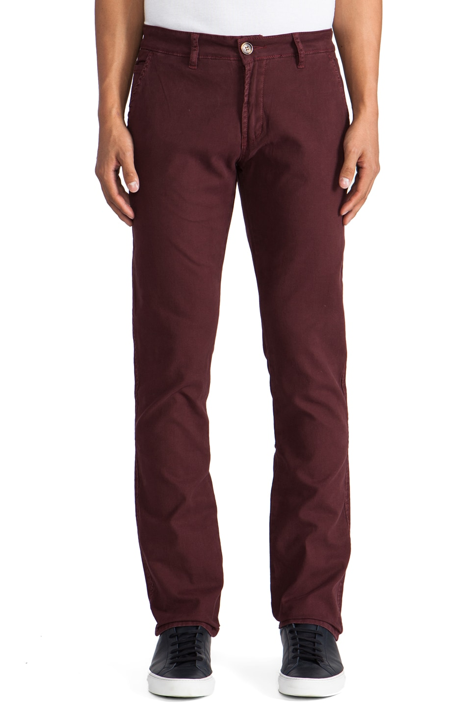 Ezekiel Pant in Deep Wine