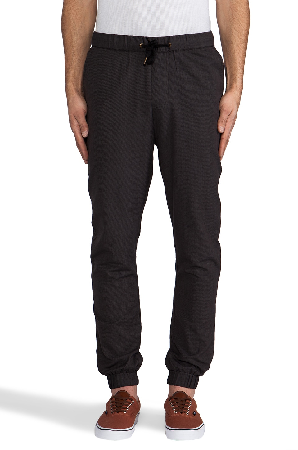 Ezekiel Road Trip Pant in Black