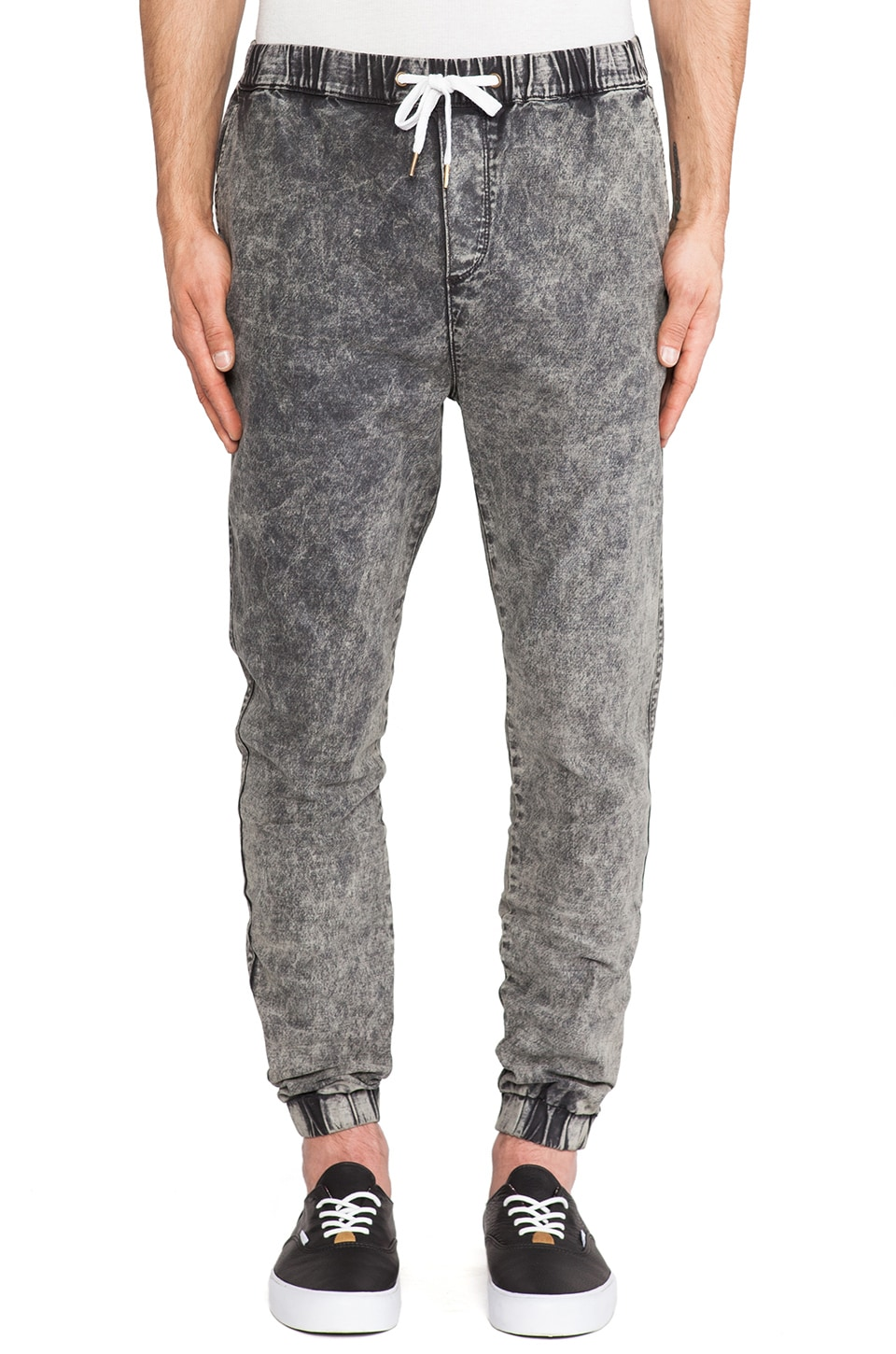 Ezekiel Acid Trip Pant in Black