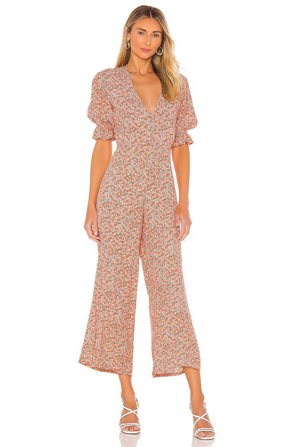 FAITHFULL THE BRAND Anika Jumpsuit in Mathiola Floral